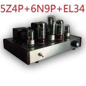 2019 Nobsound promotionnel simple fin Tube amplificateur de puissance monté Version avec 5Z4P + 6N9P + EL34-B puissance de sortie 13W + 13W AC110/220