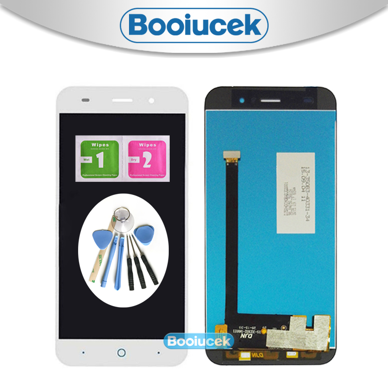 High Quality 5.0'' For <font><b>ZTE</b></font> Blade X7 Z7 V6 D6 <font><b>T660</b></font> T663 LCD Display Screen With Touch Screen Digitizer Assembly + Tool image