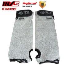 Funda de protección INXS Nivel 5 gris BladeX, funda de fibra a prueba de cortes mecánicos, láminas de hierro de vidrio de defensa