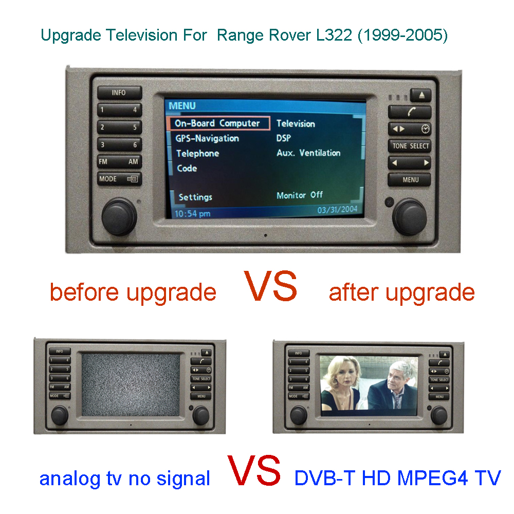DVB T Digital TV For Land Rover L322