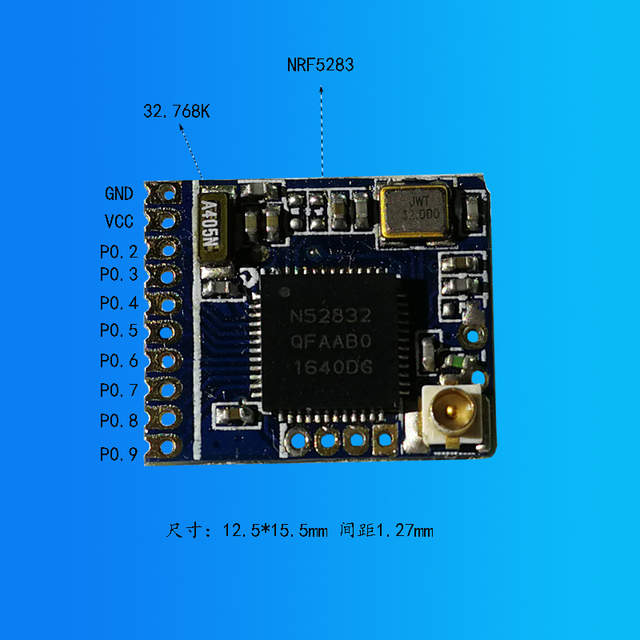 US $10 0 |NRF52832 Bluetooth 4 2 Module /BLE/ Low Power Bluetooth /  External Antenna-in Air Conditioner Parts from Home Appliances on  Aliexpress com |