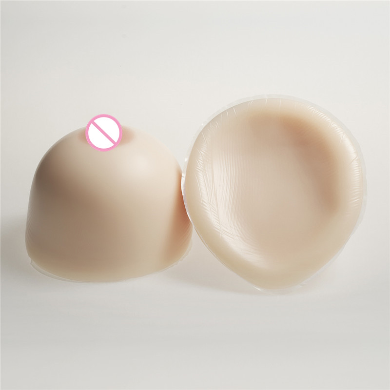 Buy IBAINBIAN 4100g/Pair Huge Cup Silicone Breast Form Classic Round Crossdresser Shemale Transgender Drag Queen Artificial Boobs