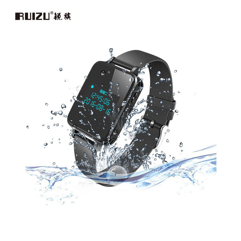 Consumer Electronics Ruizu K18 Mp3 Player Bluetooth Waterproof Digital Voice Recorder 16gb/8gb Wristband Hifi Lossless Music Watch Noise Reduction Portable Audio & Video