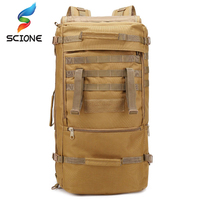 60L Military Tactical Bag Hunting Camping Laptop Molle Backpack Oxford Nylon Waterproof Military Backpack Sport Bag for Outdoor
