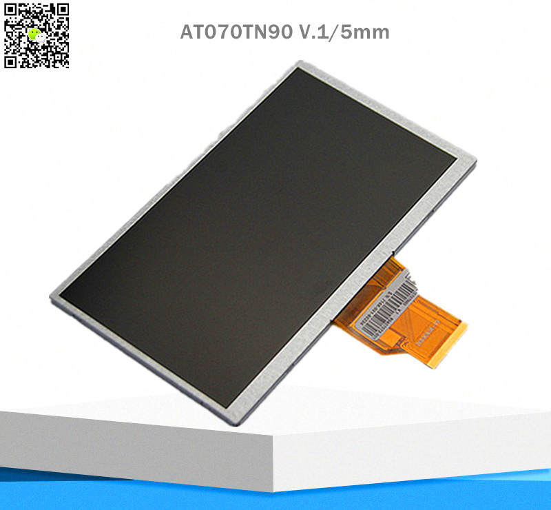 NEW 7inch TFT lcd display LCM AT070TN90 V.1 800*480 resolution thickness 5mm TFT for Car DVD
