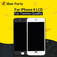 IBee Parts 5PCS For Tianma Top Quality For IPhone 8 LCD 4 7 Inch Glass Touch