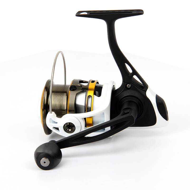 Haibo Shallow Spool All Metal STEED10s 20s 30s 40s Fishing Reel Spinning Reels Rock Wheel Fishing