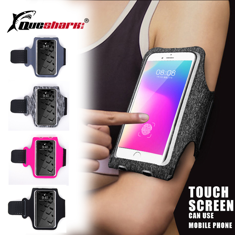 Gym Fitness Sports Arm Bag Running Bag Mobile Phone Arm Belt Pouch Outdoor Mobile Phone Bag Waterproof Cycling Jogging Arm Bag