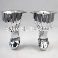 4 Set Height 140mm Metal Furniture Cabinet Tea Table Sofa Leg Feet