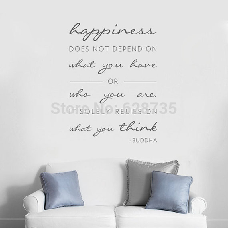 Wall Art Stickers Quotes popular decal wall quotes-buy cheap decal wall quotes lots from