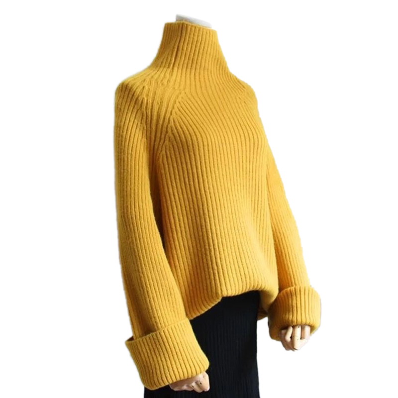 Female Tricot Jersey Jumper Pull Femme Women Sweater Autumn Winter Cashmere Knitted Women Sweater Pullover