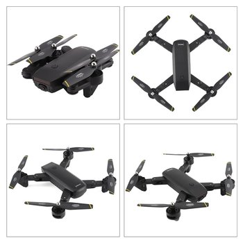 SG700 2.4G RC Drone Foldable Quadcopter with 720P HD Wifi FPV Camera Optical Flow Positioning Altitude Hold Headless Mode remote control charging helicopter