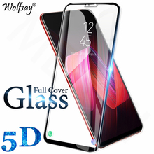 1PCS 5D Curved Screen Protector OPPO F5 Tempered Glass For OPPO F5 / OPPO A73 Anti-Scratch Full Cover Edge Film OPPO F 5 Wolfsay рюкзак oppo