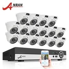 Cheap price ANRAN 16CH 1080N HDMI DVR Outdoor Surveillance System Digital Video Recorder AHD 720P 1800TVL IR Home Security Camera CCTV Kit