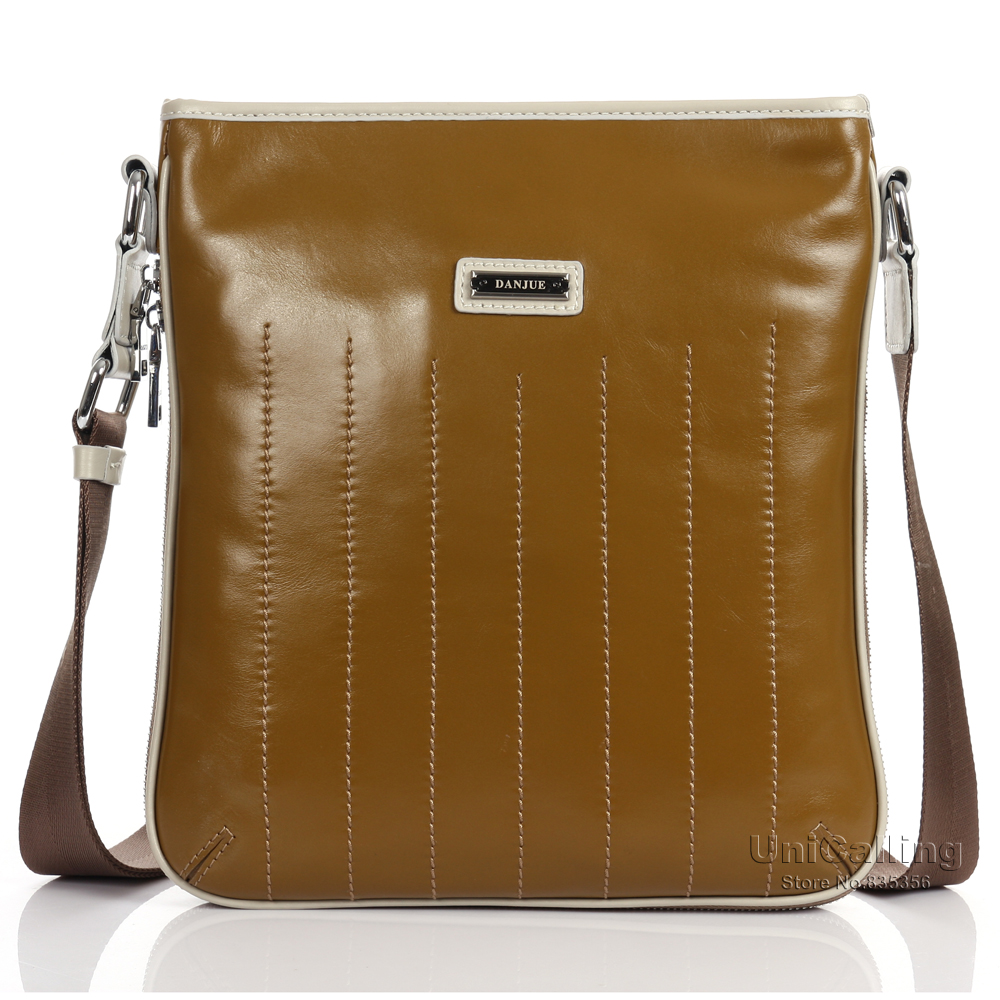 ФОТО Men shoulder bag genuine leather fashion brand luxury style men messenger bag men bags of leather crossbody bags for men