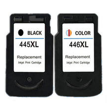 Hisaint 2 шт чернильный картридж для принтера Canon 445 446 PG445 CL446 для Canon Pixma iP2840 MG2440 струйный принтер