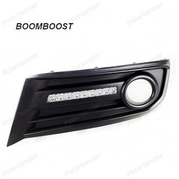 BOOMBOOST auto part Car fog lights  For C/itroen C-Q/uatre 2012-2013 LED running lights super bright light
