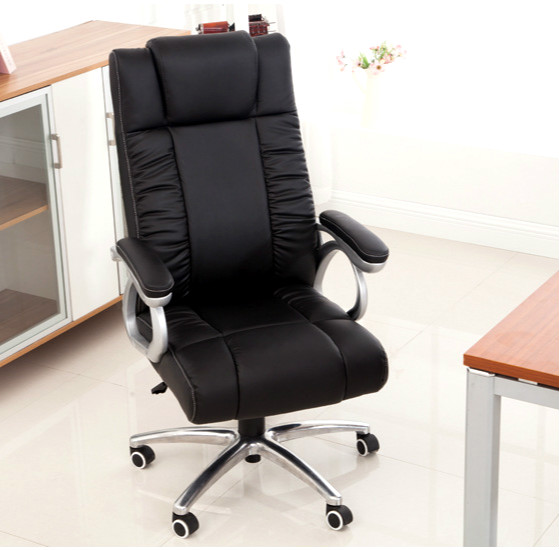 High Quality Swivel Office Chair Computer Chair Soft Comfortable Cushion Staff Employee Office Supply bureaustoel ergonomisch 240311 high quality pu leather computer chair stereo thicker cushion household office chair steel handrails