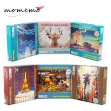 MOMEMO Luminous Puzzle 1000 Pieces 3D Jigsaw Glow In Dark Puzzles Adult Children Educational Toys Gift