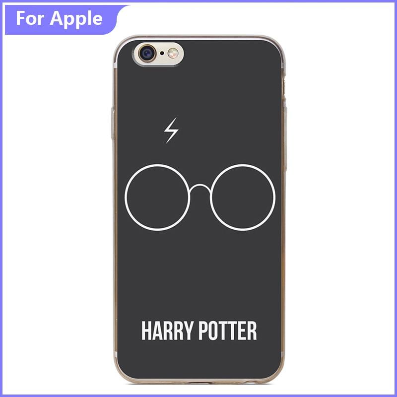 Fashion Phone Case iPhone 4 4S 5 5S SE 6 6S Plus Harry Potter Glasses Unique Back Hard Plastic Protective Cover - FashionPhoneCase store