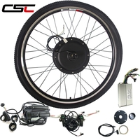 E BIKE Conversion Kit 48V 500W 1000W 1500W Electric Bicycle Motor wheel For 20inch 29inch 700C Electric Bike Conversion Kit