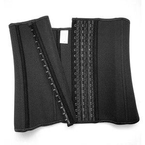 Image 5 - Faja de cintura de entrenamiento de neopreno, moldeador para pérdida de peso, Fitness, quemador de grasa, banda recortadora, faja ceñida para cintura
