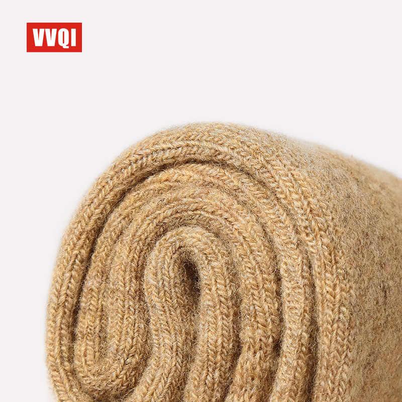 VVQI ฤดูหนาวผ้าขนสัตว์ Merino ถุงเท้าตลกผู้หญิงอุ่นถุงเท้าผู้หญิงหนาด้ายหนาถุงเท้า 4 คู่/ล็อต Mens ถุงเท้าธุรกิจชุด