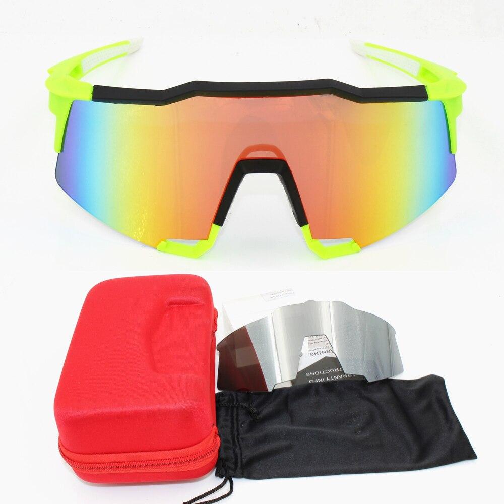 b45374ef771 100 speedcraft Base Outdoor Sports Bicycle Sunglasses bicicleta Gafas  ciclismo Cycling Glasses Eyewear 2 lens UV400-in Cycling Eyewear from Sports  ...