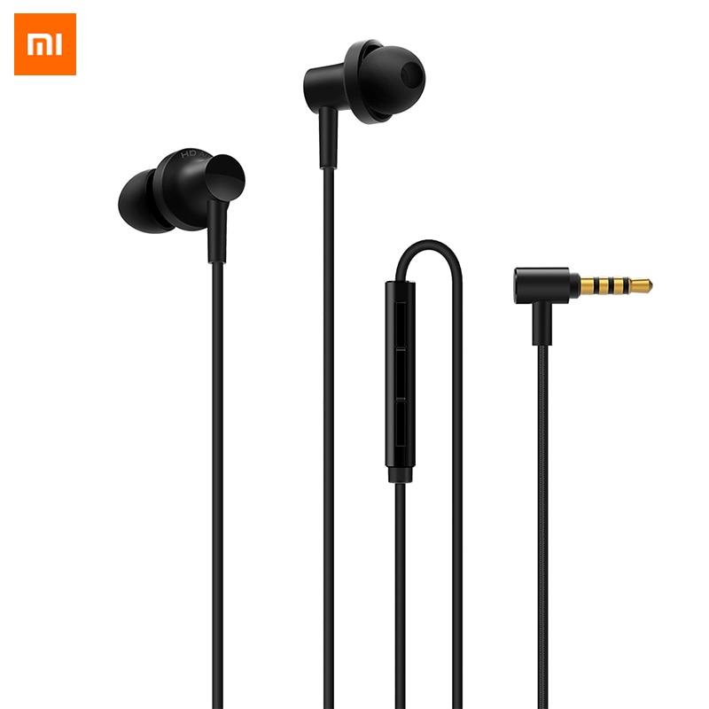 100% Original Xiaomi Earphone Mi Hybrid Pro HD 2 In-Ear Earphone Wired Control Dual Driver With M for Xiaomi Redmi Note
