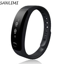 Sanlimi H8 Smart Band Bluetooth Браслет Шагомер Фитнес трекер SmartBand Anti потерянный браслет для Android IOS браслет