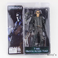 "7""18cm NECA The Terminator 2 Action Figure T-800 Battle Across Time Arnold PVC Figure Toy Model TT006"