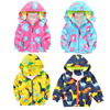 Autumn Children S Clothes Boy Girl Pink Pig Hooded Jackets Windbreaker Kids Clothes Trench Coat Girl