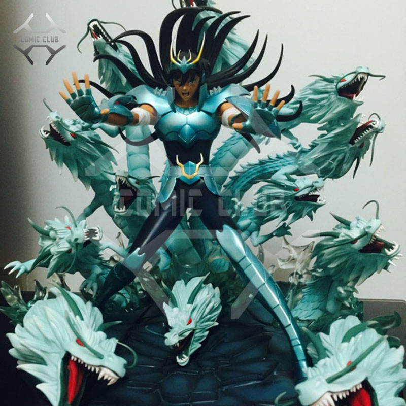 COMIC CLUB IN-STOCK Saint Seiya Bronze Saint Shiryu 100 Rising Dragons GK Resin Made For Collection
