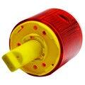 LED solar luz de advertência/construção guindaste de torre de luz/crítico para a segurança do tráfego cones da estrada de luz/luz de aviso piscante sinal
