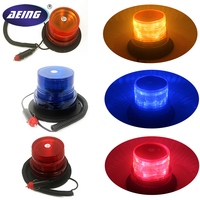 12V High Power Amber Yellow Red Blue Color 26 LED Car Truck School Bus Warning Flash