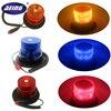 AEING 12V High power Amber/Red/Blue Color 26 LED Car Truck school bus Warning flash beacon Strobe Emergency light Magnetic base
