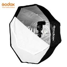 Godox 120 cm/47.2in przenośny parasol Octagon Softbox Brolly reflektor do lampy błyskowej Studio Strobe Flash