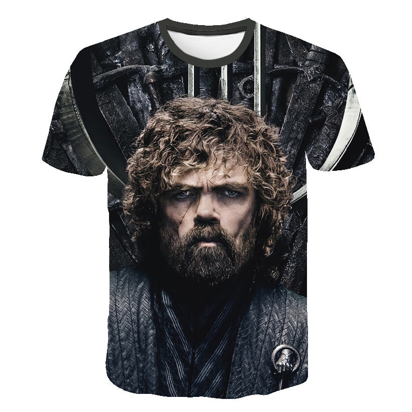 Game Of Thrones   T  -  Shirt   I Drink And I Know Things Tees Tyrion Lannister   T     Shirt   for Men Tops Vintage Crew Neck Harajuku Tshirt