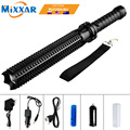 EZK20 Dropshipping L2 Tactical Baseball Bat LED Flashlight 9000LM 18650 Rechargeable Torch for Emergency Self Defense Patrol