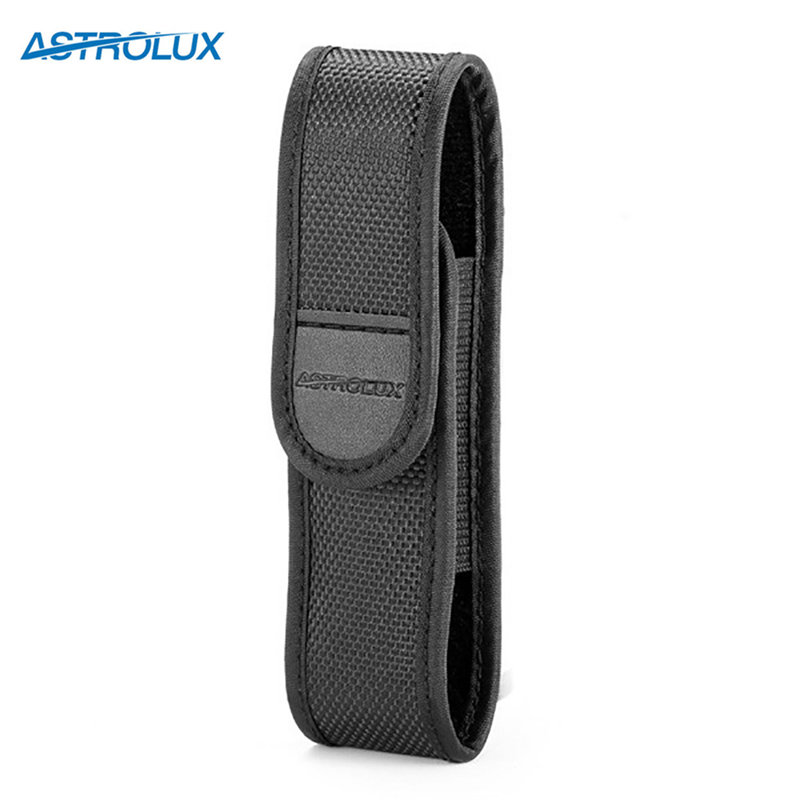 Astrolux 12.8x3.2cm LED Flashlight Pouch Pad Flashlight Protected Bag Holster For Astrolux S41/S41S/S41s Colored