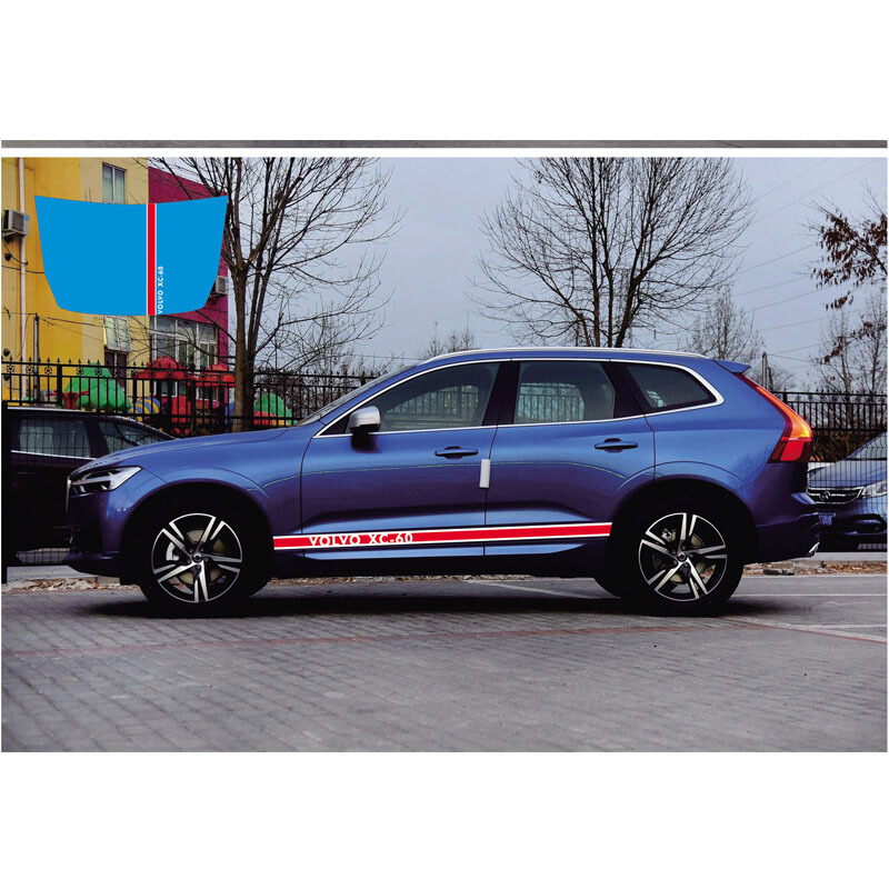 World Datong car styling sport car sticker For Volvo XC60 whole body sport decals auto stickers in Car Stickers from Automobiles Motorcycles