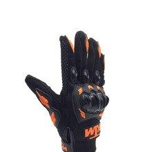 Nonskip мотоциклетные перчатки унисекс, для сенсорных экранов, перчатки для мотокросса, дышащие, для велоспорта, для гонок, для езды на мотоцикле