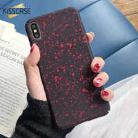 KISSCASE Space Spot Pattern Case For Samsung Galaxy A50 A40 A30 A70 A60 A90 A80 Case For Samsung A7 2018 A5 A3 A7 2016 2017 Capa