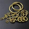 20 шт., круглые соединительные кольца из латуни