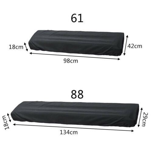 Electronic Digital Piano Pouch Keyboard Storage Bag Waterproof Cover Dust Proof Durable Foldable For 88 Or 61 Key High Quality