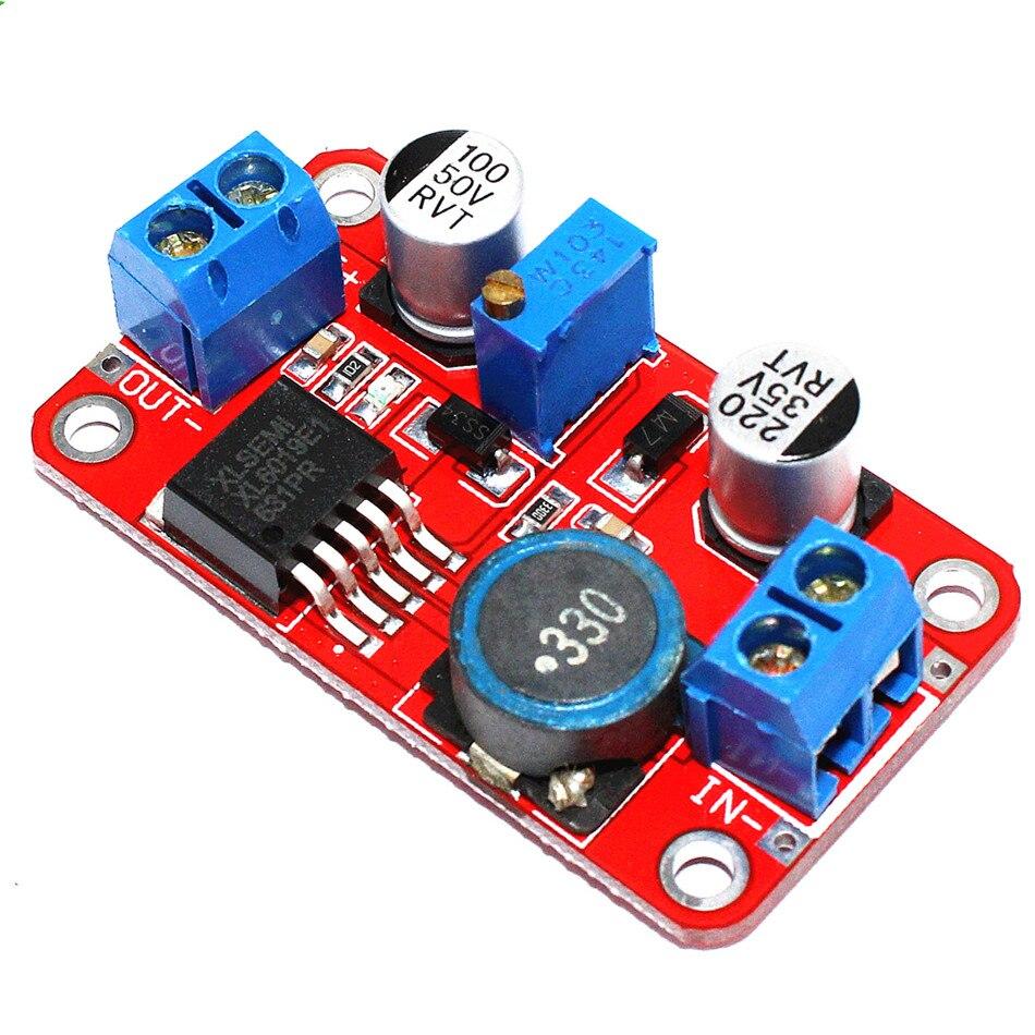 XL6019 DC-DC Step Up Converter DC DC Schritt-up Booster 3-35V zu 5-40V 4A Einstellbare Adapter Modul Power Supply Voltage Regulator