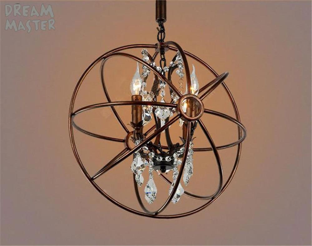 Kronleuchter Eisen Für Kerzen ~ Vintage kristall kronleuchter beleuchtung rustikale kerze