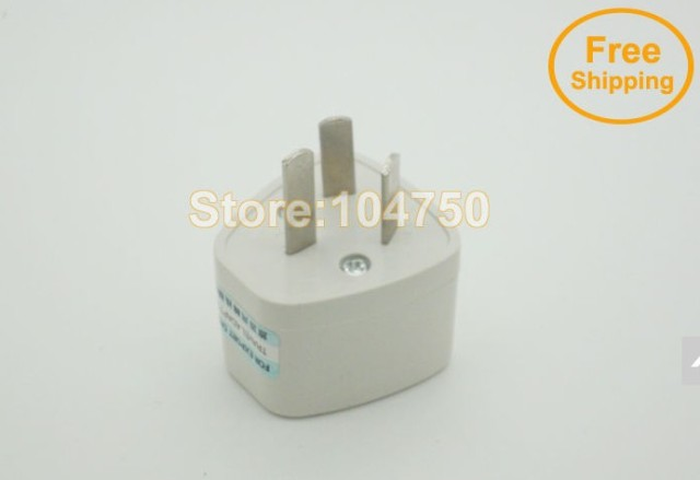 3 pins AU Adaptor Converter /Universal AC Power Plug Travel Adapter For Australia AU 30pcs/lot