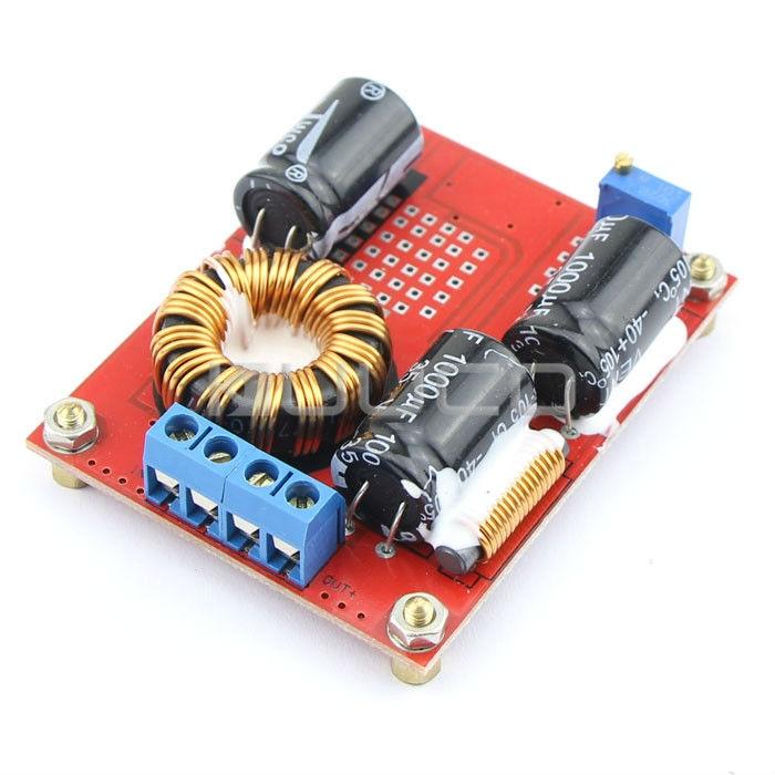 72W Adapter DC 8~32V to 12~35V 3A Boost Converter/Adjustable Voltage Regulator DC 12V 24V Power Supply Module/Driver Module boost module power module conversion radiation geiger sensor 160 450v linear adjustable