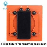 For iPhoneX back cover fixed abrasive fixture For IPHONE X mobile phone glass back cover maintenance fixture fixing fixture